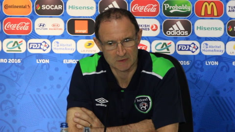Video: Martin O'Neill looks ahead to clash with France