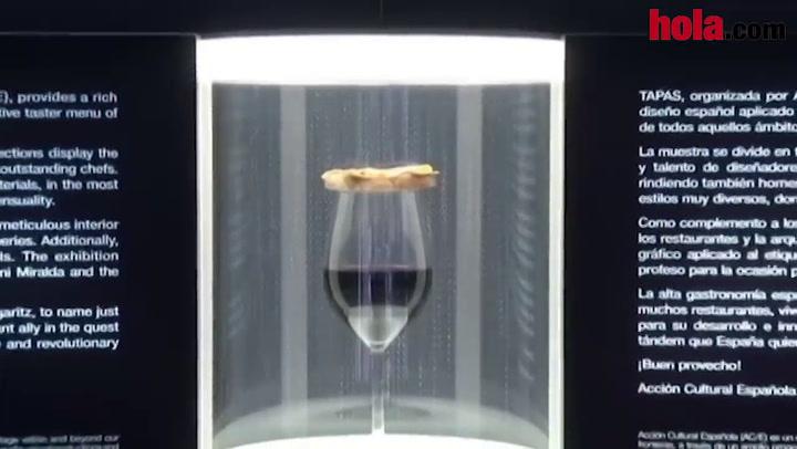 Tapas', la prueba de que el arte y la inovación se dan la mano en la cocina española