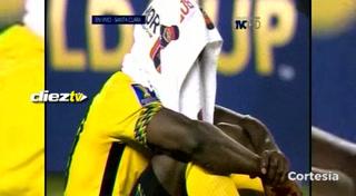 Futbolista de Jamaica rompe en llanto tras perder la final de la Copa Or
