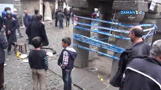 Tahir Elçi'nin öldürüldüğü yerde boş kovanlar hâlâ duruyor