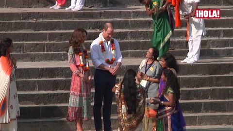 Los momentos más emotivos y divertidos del príncipe Guillermo y su esposa en su exótico viaje