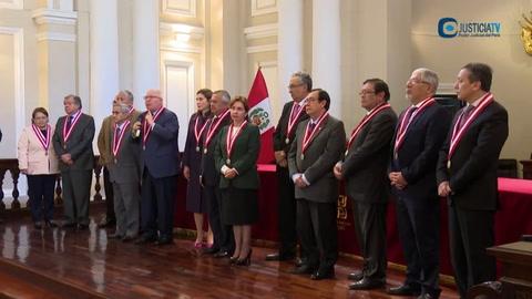 Jefe de la Corte Suprema peruana cae en escándalo de audios