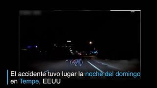 Difunden video del accidente fatal de coche autónomo de Uber