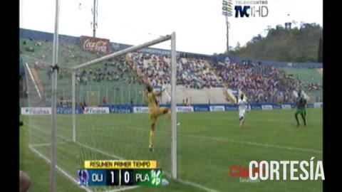 Olimpia se va al descanso ganando 1-0 a Platense