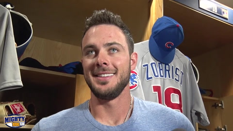 Kris Byrant on returning to SD, year two, and Cubs success