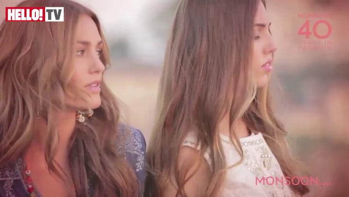 Yasmin and Amber Le Bon shoot Monsoon campaign in India