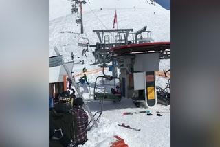 Un telesilla 'asesino' causa terror a esquiadores en Georgia
