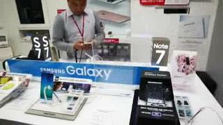 Samsung dejará de fabricar el Galaxy Note 7 por incendios