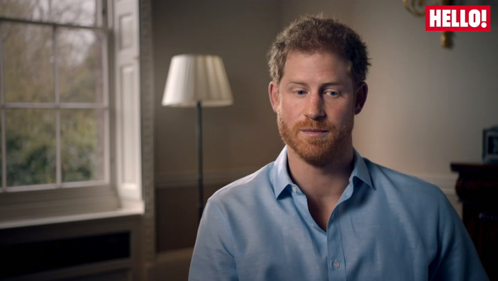 Prince Harry talks about what the hardest part to come to terms was after his mother\'s death