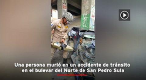 Honduras: Muere un técnico electricista en accidente de vehículo en San Pedro Sula