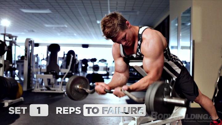 Steve Cook Back and Biceps Workout | Big Man on Campus