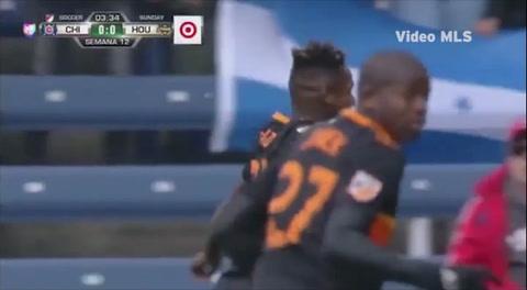 Los goles de Romell Kioto y Alberth Elis ante el Chicago Fire (MLS)