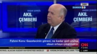 Fehmi Koru: Biz 28 Şubat'ta gizli belgeleri yayınladık! Şimdiki iktidarda tebrik etti