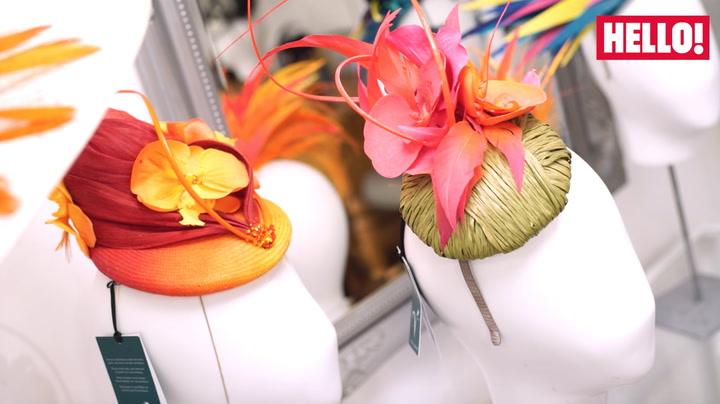 Royal wedding hats: meet the maker