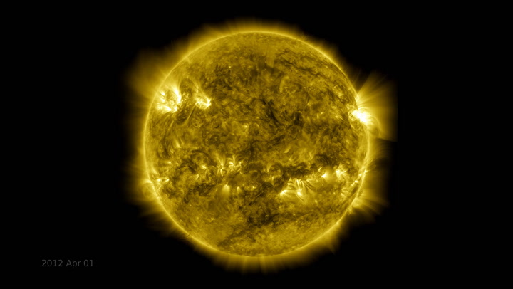 NASA has been filming the Sun for 10 years. Here's the gorgeous, jaw-dropping footage