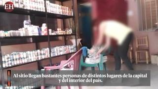 Al descubierto la descarada estafa de curanderos en Honduras