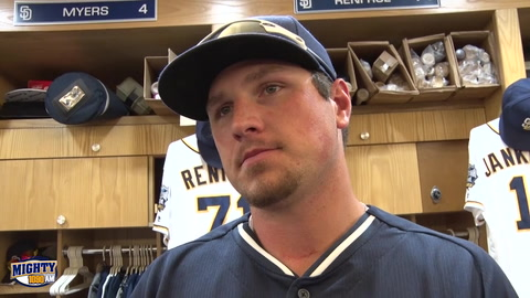 Hunter Renfroe talks 1st week in The Bigs & starting strong