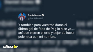 POLÉMICA: Dani Alves no se queda callado y le responde a Forlán