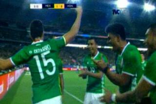 México elimina 1 - 0 a Honduras de la Copa Oro