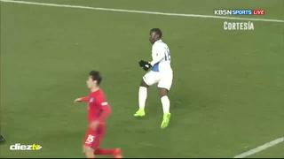Darixon Vuelto anota una joyita de gol en amistoso con la Selección Sub-20