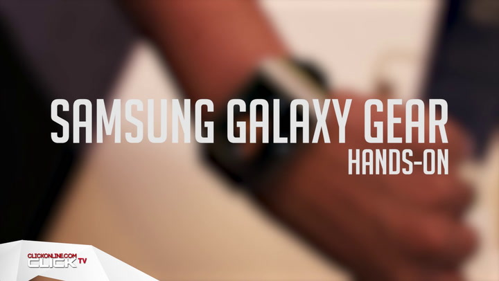 Samsung Galaxy Gear: Hands On