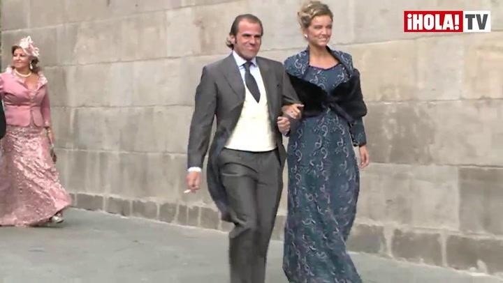 Espectacular desfile de invitados en la boda de Miguel Ángel Perera y Verónica Gutiérrez