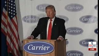 Trump dice convencer a empresa no trasladar empleos a México