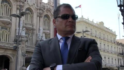 Correa vinculado en causa en Ecuador por secuestro de opositor