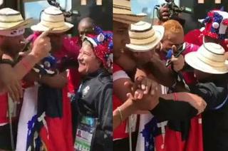 Hinchas panameños lloran y agradecen al 'Bolillo' Gómez por cumplir su sueño mundialista