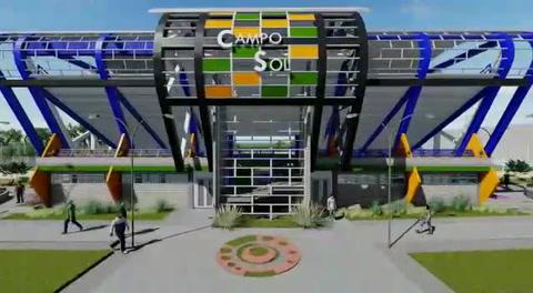 Choluteca: Este es el diseño de lo que será la cancha Campo Sol