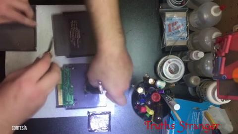 Un coleccionista encuentra droga dentro de cartuchos de Nintendo