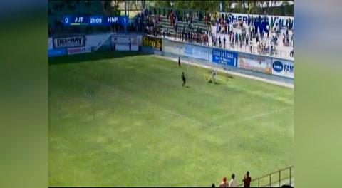 El error del HNP que terminó en gol de Juticalpa (Liga Nacional 2018)