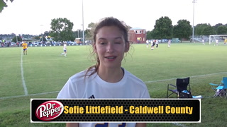 Littlefield on Her Game Winning Goal