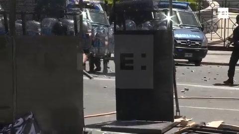 Suspenden sesión sobre reforma de pensiones tras disturbios