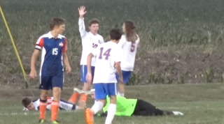 Riverton vs Newton Sectional Soccer