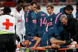 Filipe Luis sufre fractura de peroné y pone en duda su participación en Rusia 2018