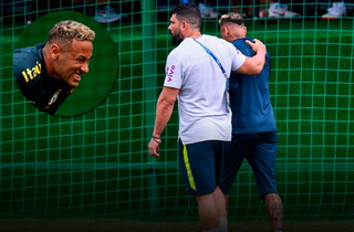 ¡Neymar prende alarma en Brasil al dejar práctica!