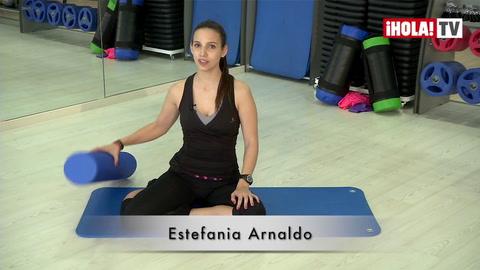 Ejercicios del Método Pilates con el Foam Roller (III)