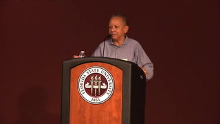 Nikki Giovanni inspires students during the 25th annual MLK week at Florida State University