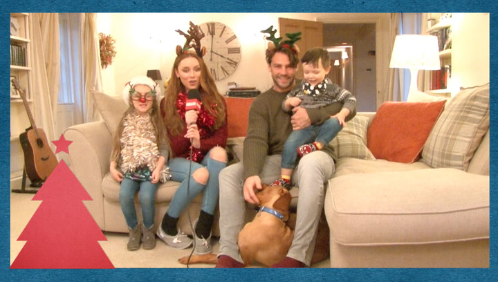 The Saturdays\' Una Healy and husband Ben Foden tell us what Santa has planned this year for their children