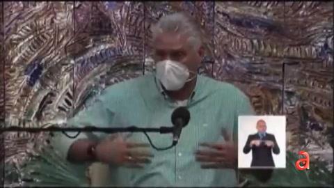 Díaz-Canel reconoce que le dice Díaz-Canel Sing..