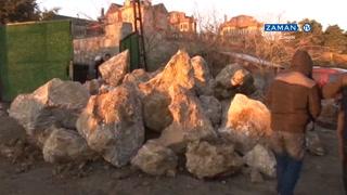 Mahmud Efendi Külliyesi'nde yıkım işlemi başladı