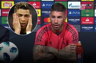 ¡Sergio Ramos responde a Cristiano Ronaldo sobre su dardo al Real Madrid!