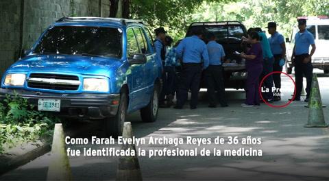 Hallan muerta a doctora dentro de su vehículo en San Pedro Sula