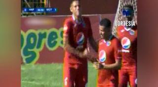 Segundo gol de Motagua al HNP (Liga Nacional 2018)
