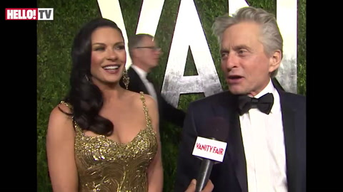Catherine Zeta-Jones and Michael Douglas: \'We have a nap before the Oscars\'