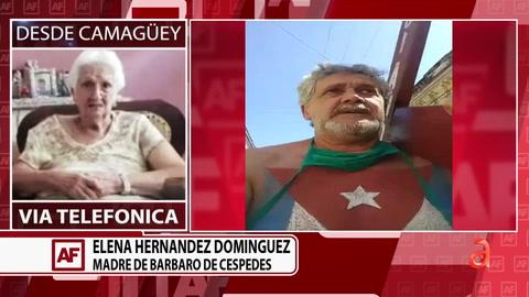 Conversamos con la madre de hombre que  espera juicio por peregrinar el viernes santos  en protesta contra el régimen cubano