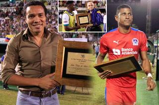 Costly, Rambo y Edgard Álvarez homenajeados en el Excélsior