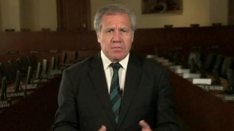 Almagro renunciaría a OEA a cambio de