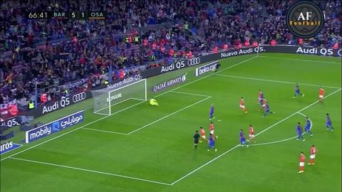 Revive el primer y único gol de Javier Mascherano con el Barcelona